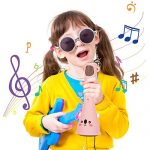 Cosy Life Wireless Kids Karaoke Microphone,Bluetooth Kids Karaoke Machine with Speaker Wireless Echo Voice Recording