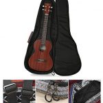 HOT SEAL 10MM Adjustable & Comfortable Durable Ethnic Ukulele Case Bag Bohemia style (23/24in, Bohemia NO.3) 2