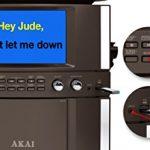 Akai KS800-BT Bluetooth Front Load CD&G Karaoke System, Black 3