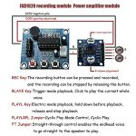 Ximimark 2Pcs ISD1820 Sound Voice Recording Playback Module Sound Recorder Board With Microphone Audio Loudspeaker 1