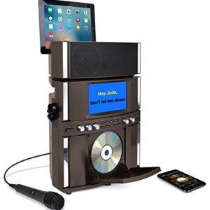 Akai Bluetooth Front Load CD&G Karaoke System, Black