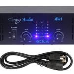 Torque Audio by Technical Pro AW1 1000 Watt 2-Channel DJ or Live Sound Rack