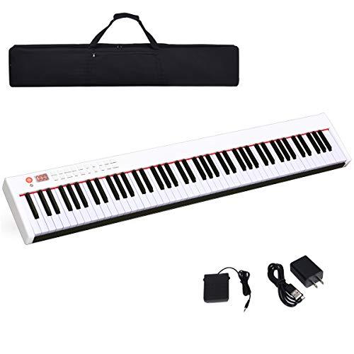 Costzon BX-II 88-Key Portable Touch Sensitive Digital Piano