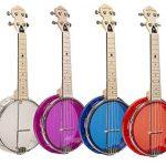 Gold Tone Little Gem Ukes 4-String Ukulele Right, Blue LG-S 1