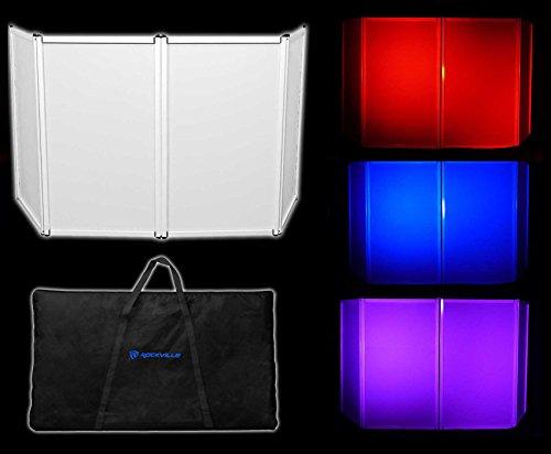 Rockville RFAAW DJ Event Facade Light Weight Metal Frame Booth+Travel Bag