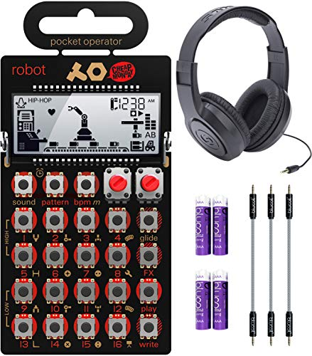 Teenage Engineering PO-28 Pocket Operator Robot Lead Synthesizer/Sequencer