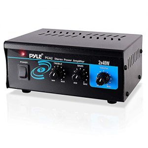 Home Audio Power Amplifier System 2X40W Mini Dual Channel Sound Stereo