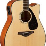 Yamaha FGX800C Solid Top Cutaway Acoustic-Electric Guitar 3