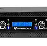 Rockville 5000 Watt Peak / 1400w RMS 2 Channel Power Amplifier