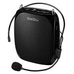 Portable Voice Amplifier SHIDU 10W Ultralight Rechargeable Mini Pa Speaker