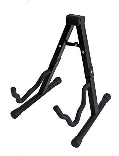 TopStage Folding Guitar Stand Hanger for Acoustic, Bass, Electric Guitars Hanger