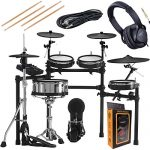 Roland V 5-Piece Electronic Set Mesh Heads, 4 x Cymbals