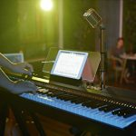 The ONE Smart Keyboard Pro, 88-Key Digital Piano Keyboard, Portable Digital Piano, Weighted Action Keys, White 3