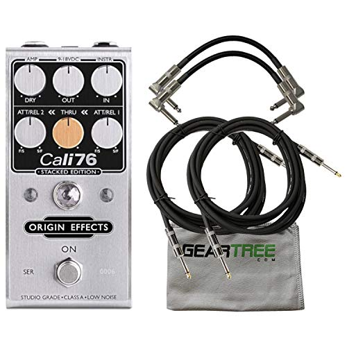 Origin Effects Stacked Edition Compressor Pedal w/Geartree Cloth and 4 C