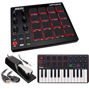 Akai Professional | MIDI Drum Pad Controller with Software Download Package