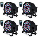 UP Lights, Missyee 36 X 1W RGB LED DJ Lights Sound Activated Stage Lights