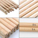 WOGOD 5A Drum Sticks Maple Drumsticks (Two pair) 3