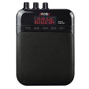 AROMA Mini Portable 5W Guitar Amp/Amplifier Recorder/Speaker