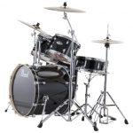 Pearl 5-Piece Export Standard Drum Set with Hardware - Jet Black
