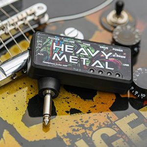 Donner Guitar Headphone AMP Heavy Metal Pocket FX Chorus Rechargeable