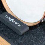 KickBlock – World's Best Bass Drum Anchor System (Stage Black)