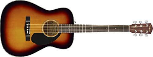 Fender CC-60S Acoustic Guitar (3-Color Sunburst, Walnut Fingerboard)