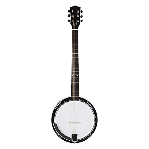 Sapelli Notopleura Wood Alloy 6-string Banj