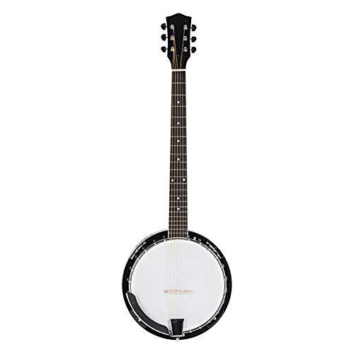 Professional Wood Metal 6-string Banjo Beginner Kit