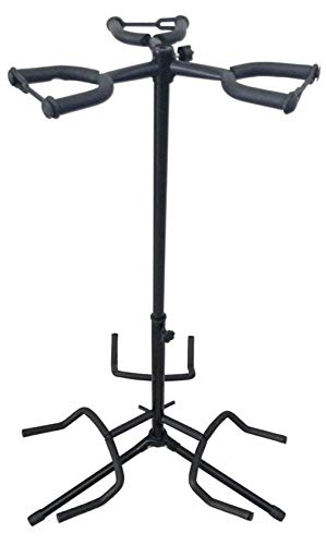 Bearhouse Triple Guitar Stand for 3 Acoustic, Electric and Bass Guitars