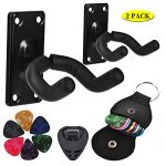 MOREYES Guitar Hanger Wall Mount for Acoustic Guitar,Classical Guitiar,Bass,Electric Guitar