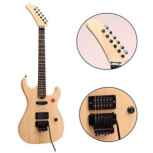 ZUWEI DIY Electric Guitar Kits BSESPUN - Basswood Body