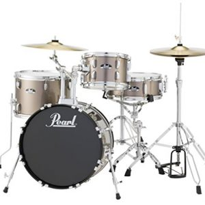 Pearl RS584CC707 Roadshow 4-Piece Drum Set, Bronze Metallic