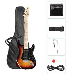 Electric Guitar for Music Lover Beginner with 20W Amp