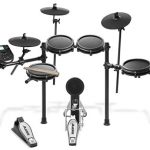 Eight Piece All Mesh Electronic Drum Kit With Super Solid Aluminum Rack