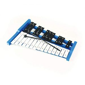 Wooden Soprano Glockenspiel Xylophone with 25 Metal Keys