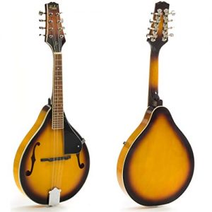 Mandolin Instrument with Adjustable Truss-Rod Model HM-3TS