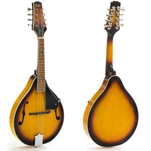 Mandolin Instrument with Adjustable Truss-Rod Model HM-3TS