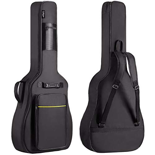 Acoustic Guitar Bag 0.35 Inch Thick Padding Waterproof