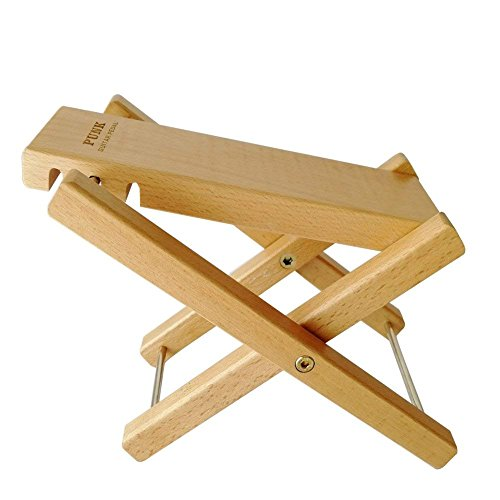 boby Wooden Guitar Foot Rest Foot Stool Footrest Pedal Adjustable Guitar Folding Leg Support Stand for Guitar Player