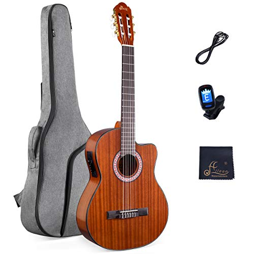 Classical Electric Guitar Build-in Pickup Kit Set