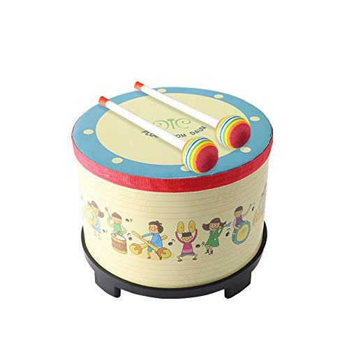 Carnival Colorful Percussion Instrument with 2 Mallets Music Drum