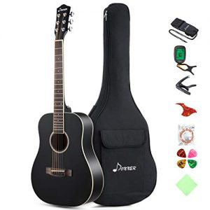 Dreadnought Acoustic Guitar Package 3/4 Size Beginner Guitar Kit