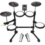 RockJam Mesh Head Kit, Eight Piece Electronic Drum Kit with Mesh Head
