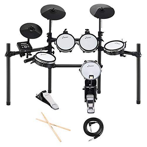 Donner DED-200 Electric Drum Set Kit Electronic with 5 Drums