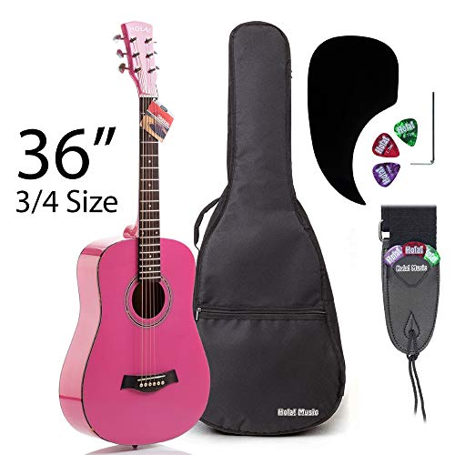 Acoustic Guitar Bundle Junior/Travel Series by Hola! Music
