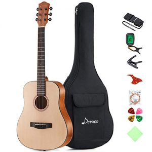 Acoustic Guitar Package 3/4 Size Beginner Guitar Kit