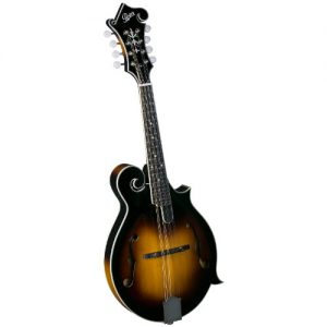 Rover 8 String Mandolin, Right, amber