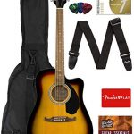 Fender FA-125CE Dreadnought Cutaway Acoustic-Electric Guitar
