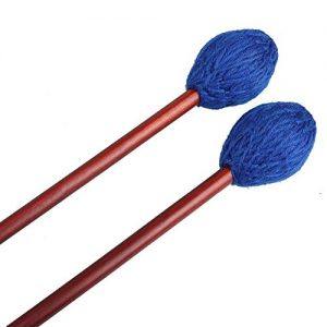 Marimba Mallets Wood Handle Yarn Head