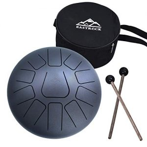 11 Notes 10 Inch Pan Drum Percussion Steel Drum Instrument with Mallets